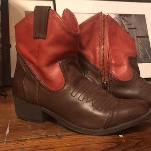 Ankle Boots, Western Style, MIA Boots, Vegan